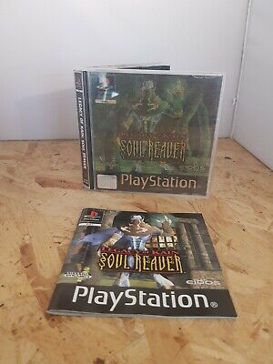 Legacy of Kain Soul Reaver Hologram Cover - PS1 Playstation One Holographic *