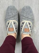 TOMS Grey Shoes Size 6 Perth CBD Perth City Preview