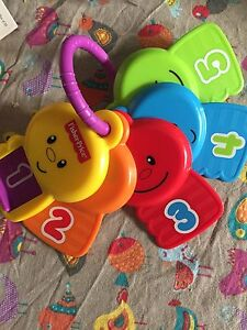 Fisher Price Baby Keys on ring Alberton Port Adelaide Area Preview