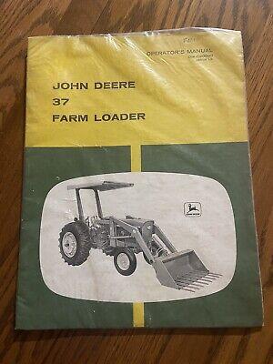 New John Deere 37 Tractor Loader Omc20090 Operators Book 25102120