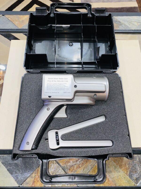 Quick Silver Radar Gun with Case NHU-63-1130