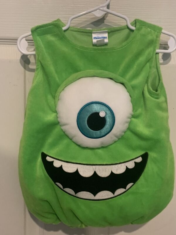 Disney Pixar By Disguise Monsters Inc. Mike Wazowski Infant Costume 3-6 Months