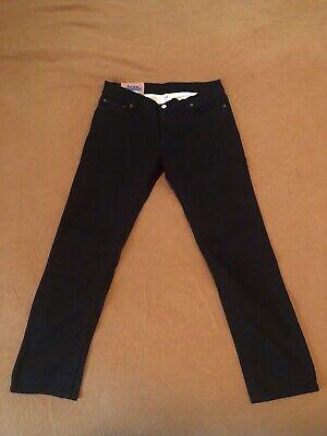 Acne Studios North Stay Black Jeans 32 X 30 30Y176-141 (32x27)