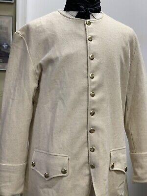 Man's OFF-WHITE Wool Frock Coat 52