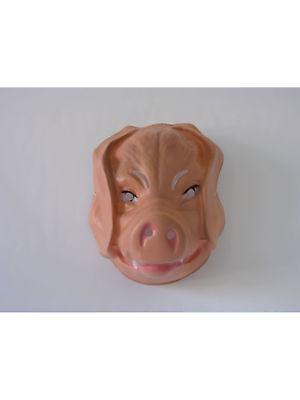 Tiermaske Schwein Maske Tier Fasching Karneval Kostüm ()