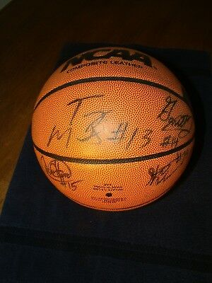 2008-2009 LSU TIGERS SIGNED BASKETBALL  BY 14 MEMBERS WARREN MITCHELL SPENCER ++