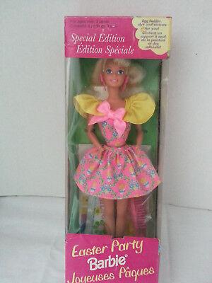 vintage 1994 easter party barbie