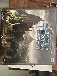 Unopened Game of Thrones Board Game North Perth Vincent Area Preview