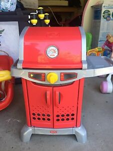 Children's Barbecue Fisher Price, comes with kitchen food and cutlery Ngunnawal Gungahlin Area Preview