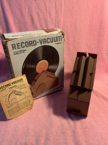 Ronco Cordless Electric Record Vacuum Cleaner