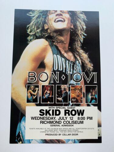 Bon Jovi Original Concert Poster