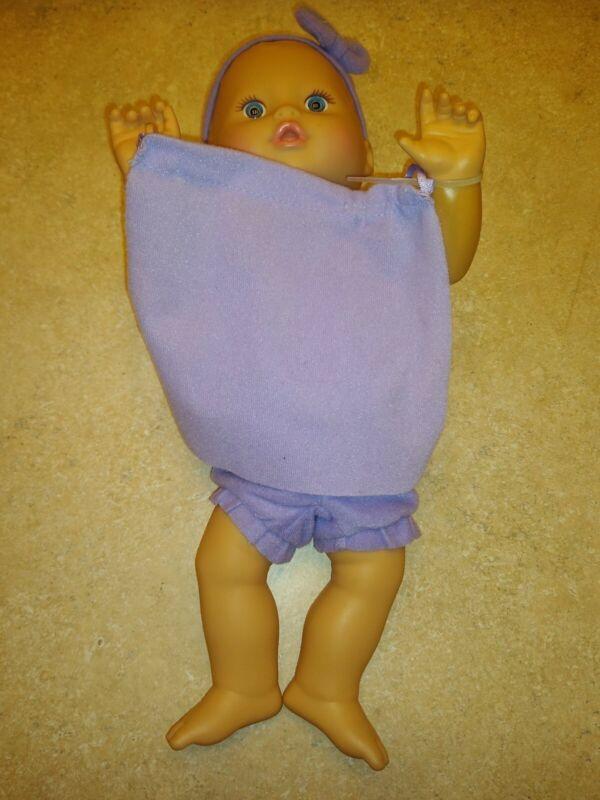 2009 Mattel Little Mommy PEEK A BOO Baby Doll In Purple Interactive BC