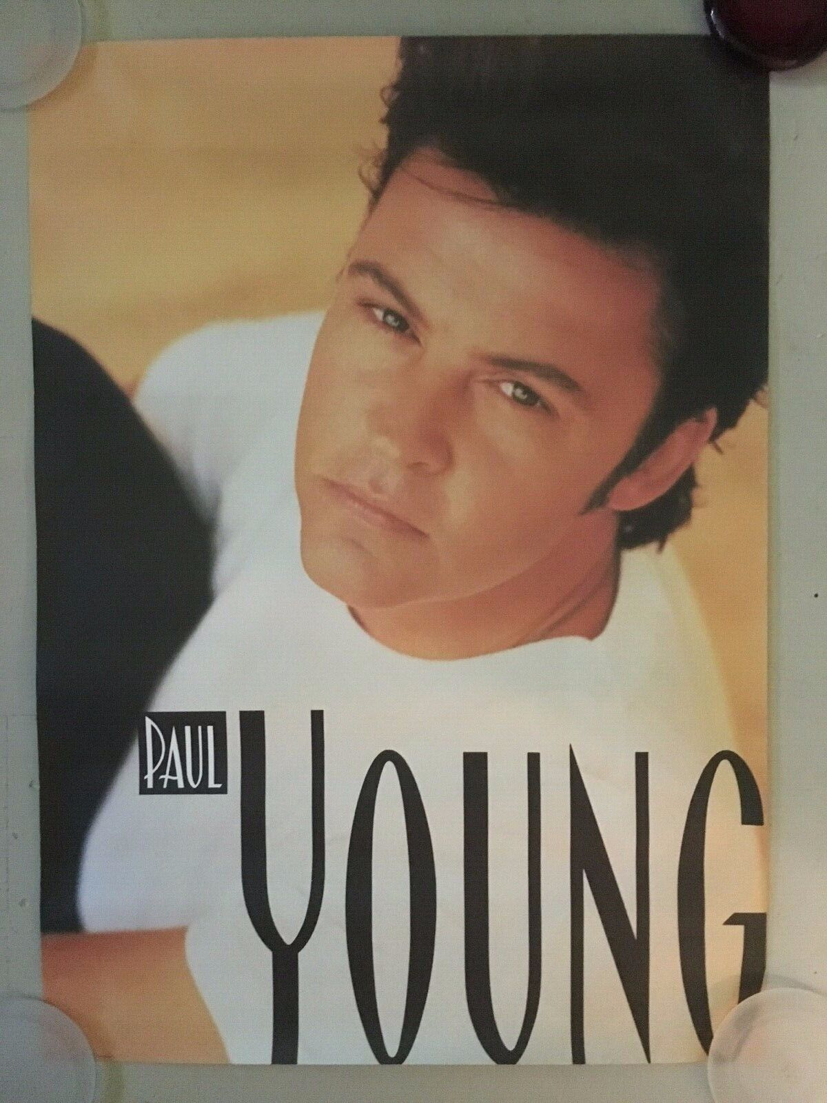 PAUL YOUNG - Other Voices - 90 Promo Poster - 24.5x37 - USA USED - $7.99