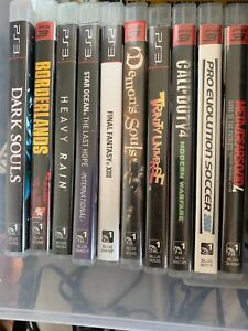 PlayStation 3 games ALL $10.00