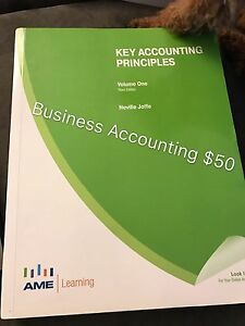 Used business accounting book