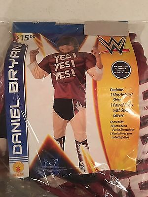 Halloween Costume Boy's Wrestler Daniel Bryan Small or Medium - Wrestler Halloween Costume