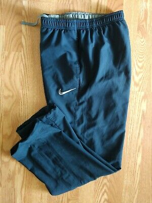 Nike Sweatpants Athletic Pants Men's Size L Dri-Fit Drawstring Leg Lightweight