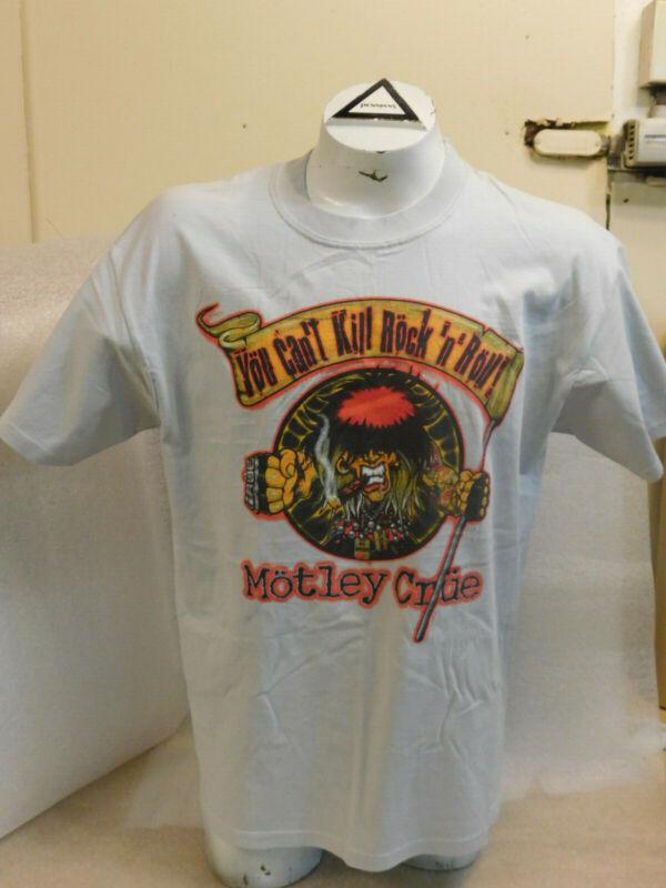 Motley Crue 2004 rare Winterland You Cant Kill Rock n Roll T-shirt NWT Large