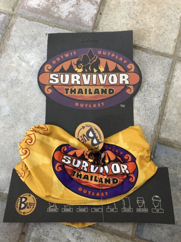 Survivor: Thailand gold buff - New with card and tags - Season 5