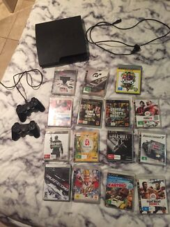 Play station 3, 320GB, 15 games  Rosebery Palmerston Area Preview