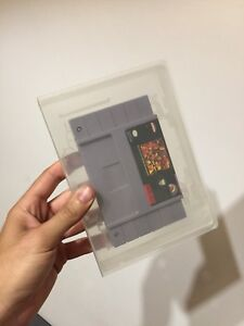 Super Nintendo game cases