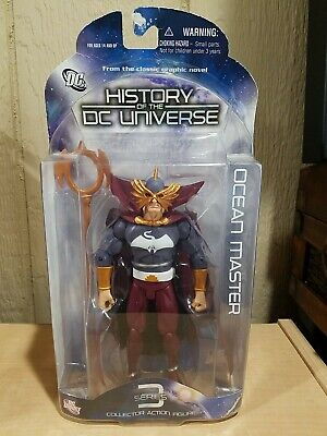 History of the DC Universe Series 3 Ocean Master Action Figure