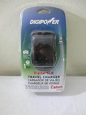 DIGIPOWER CANON DIGITAL SLR CAMERA TRAVEL CHARGER 1 HOUR DSLR-500C NEW