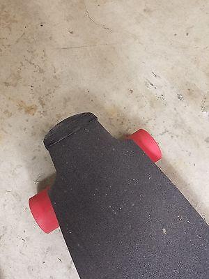 Longboard tail guard for electric skateboard