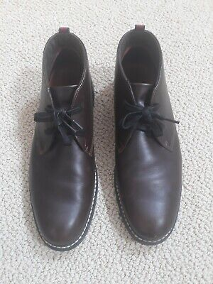 TIMBERLAND EARTHKEEPERS ANTI FATIGUE SHOES OXFORDS BROWN  LEATHER  SIZE 12