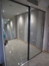 2 sliding glass doors with track for Built-in-Robes Kangaroo Point Brisbane South East Preview