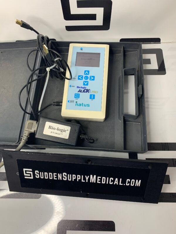 Bio-logic Natus Hearing AuDX PRO 580 AXPBOX 034 Oto-acoustic Measurement Test