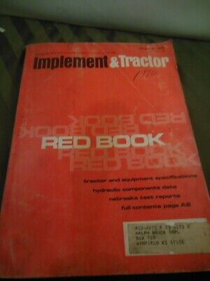 1976 Farm Tractor And Implement Red Book