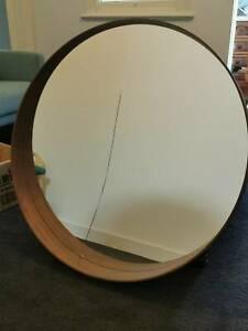 Cracked Ikea STOCKHOLM mirror