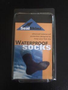 NEW Seal Skinz Waterproof Breathable Socks Medium