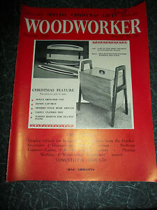 WOODWORKER-December-1958-Retro-Vintage-Illustrated-Magazine-Advertising