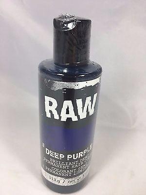 Raw Blue Demi-Permanent Long Lasting Temporary Hair Dye - Blue Hair Dye Temporary