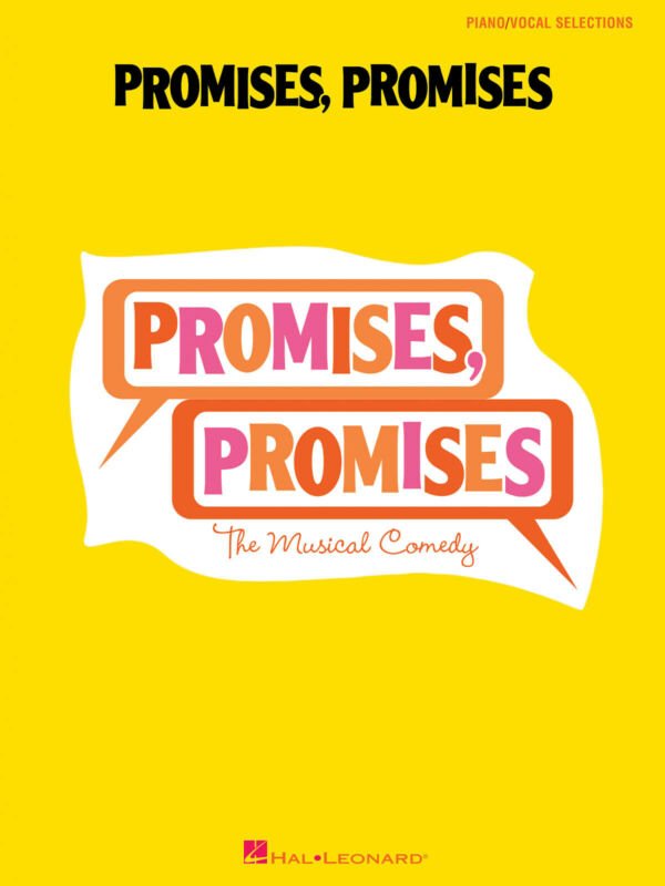 Promises Promises Musical Vocal Piano Sheet Music 12 Songs Hal Leonard Book