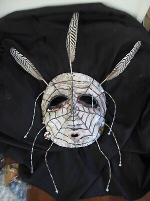 lillian pitt native american clay mask sculpture SPIDER WOMAN Pacific Northwest