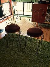 Retro chairs Appin Wollondilly Area Preview
