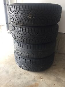 Four Winter Tires with rims 185 65 R15