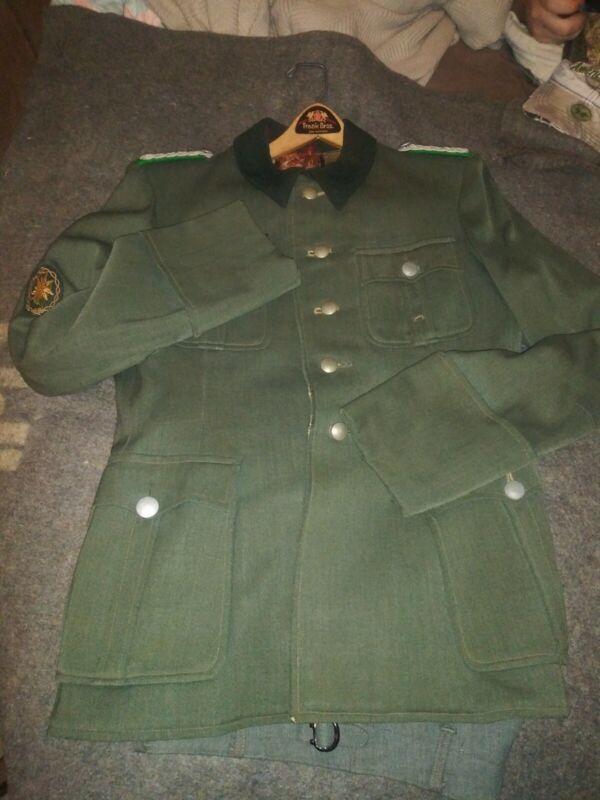 World War II Original Gerbergisjäger Majors Uniform Set Original