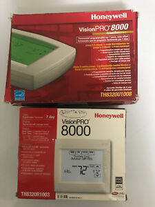 Thermostat honeywell neuf pour  thermopompe ou a/c 24 volt
