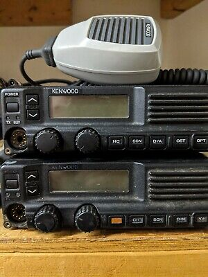 Kenwood Tk-790 Vhf Alh22933110 148-174 Mhz Radio And Mic