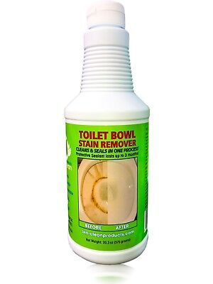- Bio Clean:Eco Friendly Toilet Bowl Stain Cleaner 20oz Large-Money Back Guarantee