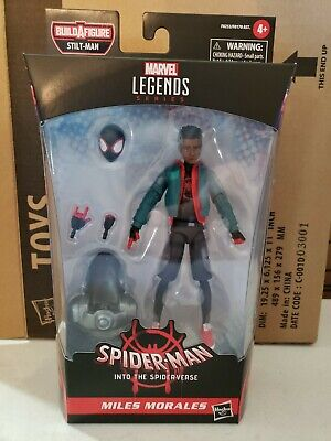 Marvel Legends 2020 Spider-Verse MILES MORALES Stilt-Man BAF 6
