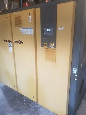 Kaeser Dsd150 150 Hp.  Rotary Screw Air Compressor Year 2010