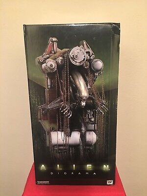 Sideshow ALIEN Polystone DIORAMA MIB - Low #76 of 1500 Long out of Production