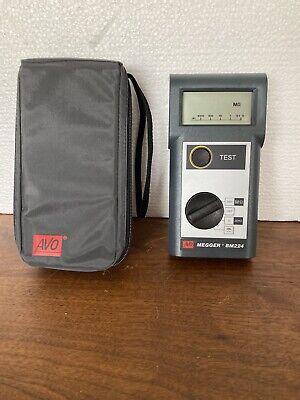 Avo Megger Bm224 Insulation And Meg-ohm Meter. Made In Uk