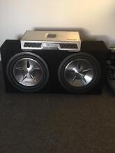 """Dual Clarion 12"""" subs and amp St Kilda Port Phillip Preview"""