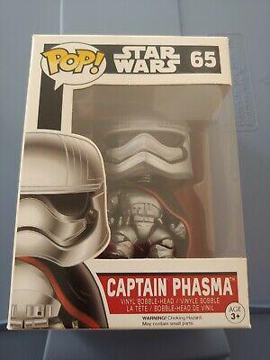 Funko Pop! Star Wars The Force Awakens Captain Phasma #65 Vinyl Figure